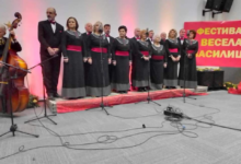 Photo of Singing Palankans sing three songs in first-ever Merry Vasilica festival