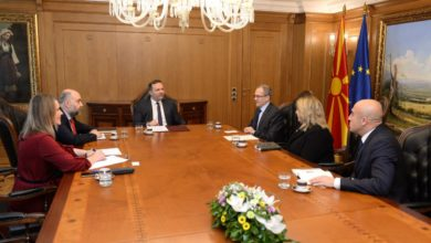 Photo of Spasovski-Sekizkok: Turkey backs North Macedonia's NATO, EU bid
