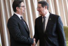 Photo of President Pendarovski meets his Cypriot counterpart in Israel