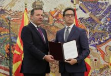 Photo of President Pendarovski gives Spasovski mandate to form caretaker gov't