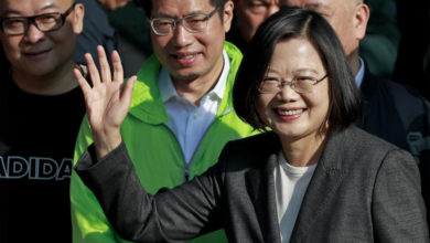 Photo of Taiwan's Tsai looks set to win second term in presidential election