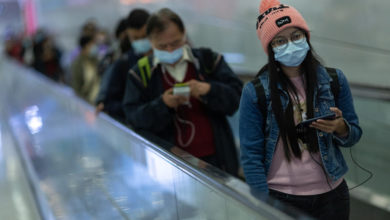 Photo of China reports 54 new 'imported' coronavirus cases