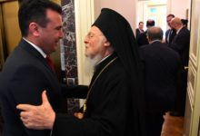 Photo of Zaev to Bartholomew: Orthodox population in country deserve church independence and autocephalous MOC-OA