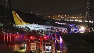 Photo of Istanbul airport reopens after plane crashes on landing killing three