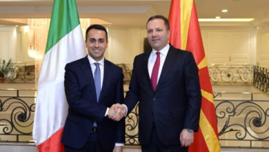 Photo of Spasovski-Di Maio: North Macedonia has historic chance to achieve strategic goals