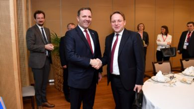 Photo of PM Spasovski meets Western Balkans leaders, Commissioner Varhelyi in Brussels