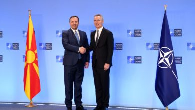 Photo of Spasovski-Stoltenberg: Attained standards lead to NATO membership