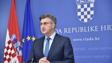 Photo of HDZ's Plenkovic: 76 signatures secured to form parliamentary majority