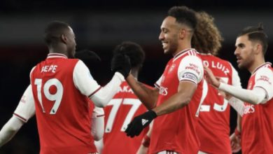 Photo of Arsenal beat Olympiacos, Wolves thrash Espanyol in Europa League
