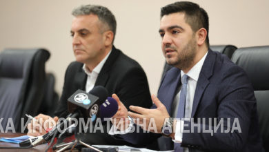 Photo of Bekteshi, Rexhepi – press conference