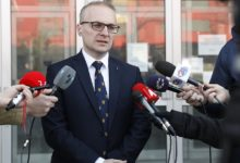 Photo of Miloshoski: I've handed all materials in my possession to prosecutors