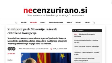 Photo of Slovenian reporters: Hungary financed VMRO-DPMNE mouthpieces