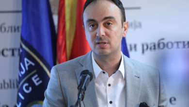 Photo of Interior Minister Chulev holds press conference