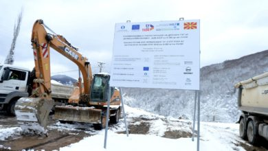 Photo of Rehabilitation of road Kriva Palanka-Deve Bair border crossing begins