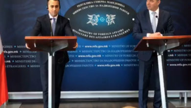 Photo of LIVE: Foreign Affairs Ministers of Italy and North Macedonia hold press conference