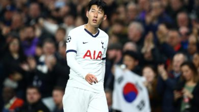 Photo of Tottenham striker Son completes South Korea military training