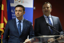 Photo of PM Spasovski, Deputy PM Osmani visit Brussels