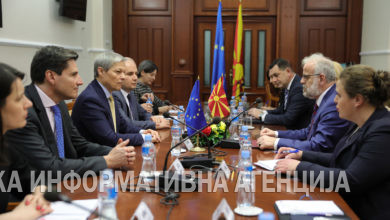 Photo of Speaker Talat Xhaferi meets with MEPs