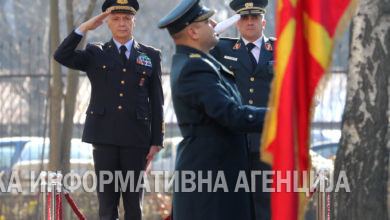 Photo of Chief of the Defence Staff of Italy, General Enzo Vecciarelli, visits North Macedonia