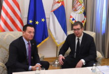 Photo of Serbia and Kosovo sign railway, road agreements