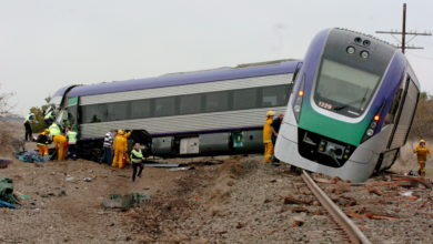 Photo of Two dead after train derails in Australia