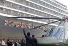 Photo of Cruise passengers leave ship in Cambodia after negative virus tests