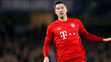 Photo of Lewandowski joy at becoming top foreign scorer in Bundesliga season
