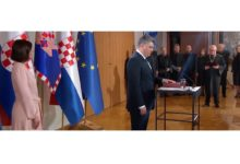 Photo of New Croatian president Milanovic promises fight against corruption