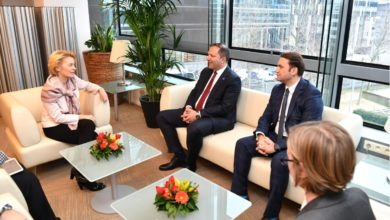 Photo of Von der Leyen-Spasovski: North Macedonia meets EC's high expectations