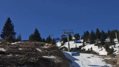 Photo of Six-seat chairlift put into use at Popova Shapka