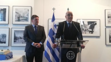 Photo of FM Dendias: Support voiced for EU perspective of North Macedonia, Albania