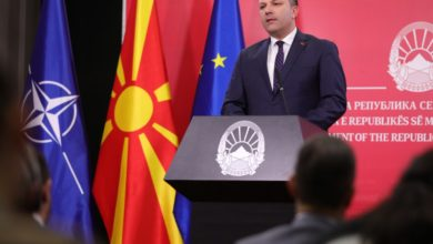Photo of Spasovski: Any lawmaker who voted for North Macedonia and NATO protocol to replace Mizrahi
