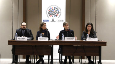 Photo of ODIHR mission holds press conference