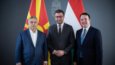 Photo of VMRO-DPMNE leader Mickoski meets with Hungarian PM Orban in Budapest