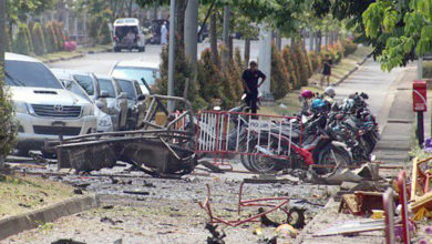 Photo of Bomb targeting state office in southern Thailand injures 20