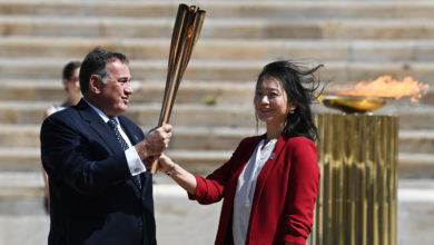Photo of Japan welcomes Olympic flame amid uncertainty over virus crisis