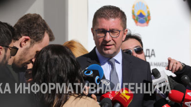 Photo of Mickoski: Election campaign will feature no rallies