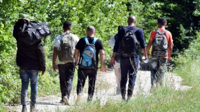 Photo of Increasing number of migrants spotted near North Macedonia-Greece border