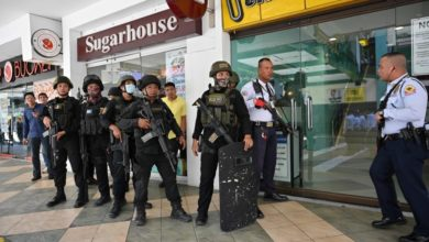 Photo of Former security guard fires gun, takes 30 hostages in Philippine mall