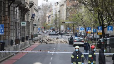 Photo of Child fighting for life after Zagreb earthquake [COR]