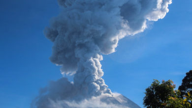Photo of Indonesia's Mount Merapi spews ash 6,000 metres into air