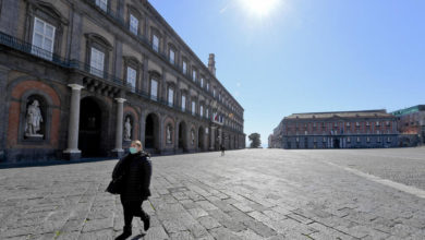 Photo of Italy reports sharp fall in crime following virus lockdown measures