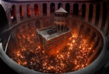 Photo of Holy Fire from Jerusalem expected to arrive on Holy Saturday