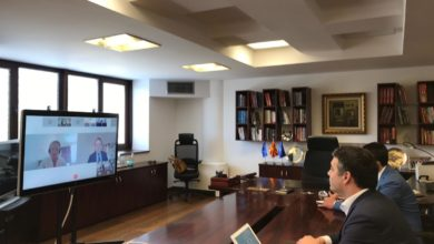 Photo of FM Dimitrov attends online meeting with regional counterparts, EU Commissioner Várhelyi
