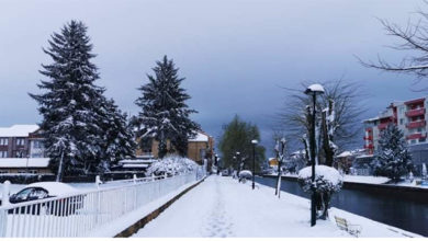 Photo of Snow-covered Struga