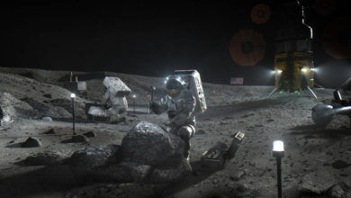 Photo of NASA names designers for 'human landers' on the moon