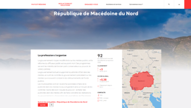 Photo of North Macedonia ranks 92nd in RSF's World Press Freedom Index