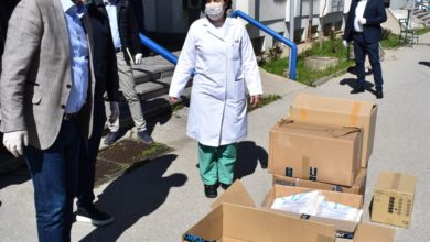 Photo of MoI donates protective equipment to Kumanovo hospital