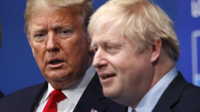 Photo of Trump, Johnson pledge to cooperate on Covid-19, trade