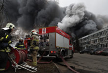 Photo of Russian retirement home fire kills at least 10 in Moscow suburb
